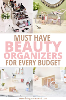 Must Have Beauty Organizers And Makeup Storage Ideas