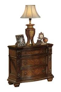 Acme Anondale Traditional Cherry -Drawer Night Stand