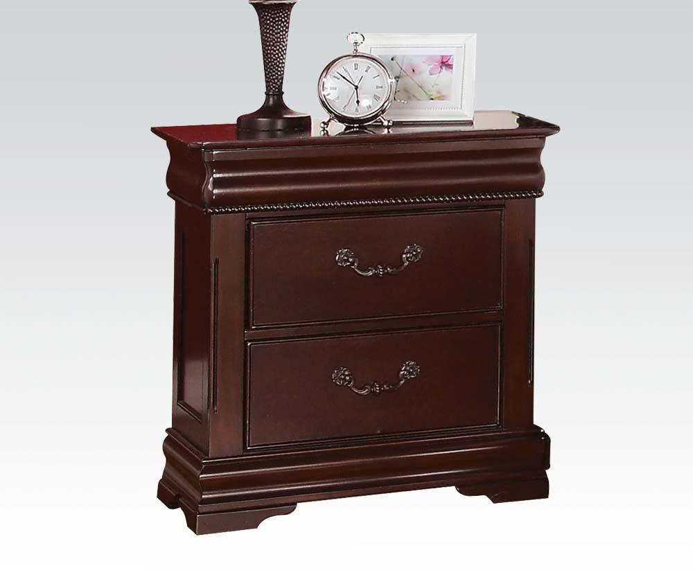 Acme Gwyneth Traditional Cherry Night Stand