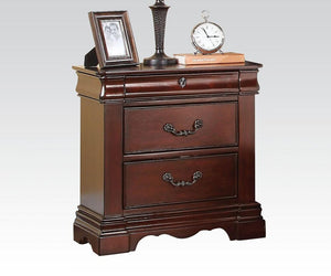 Acme Estrella Dark Cherry -Drawer Night Stand