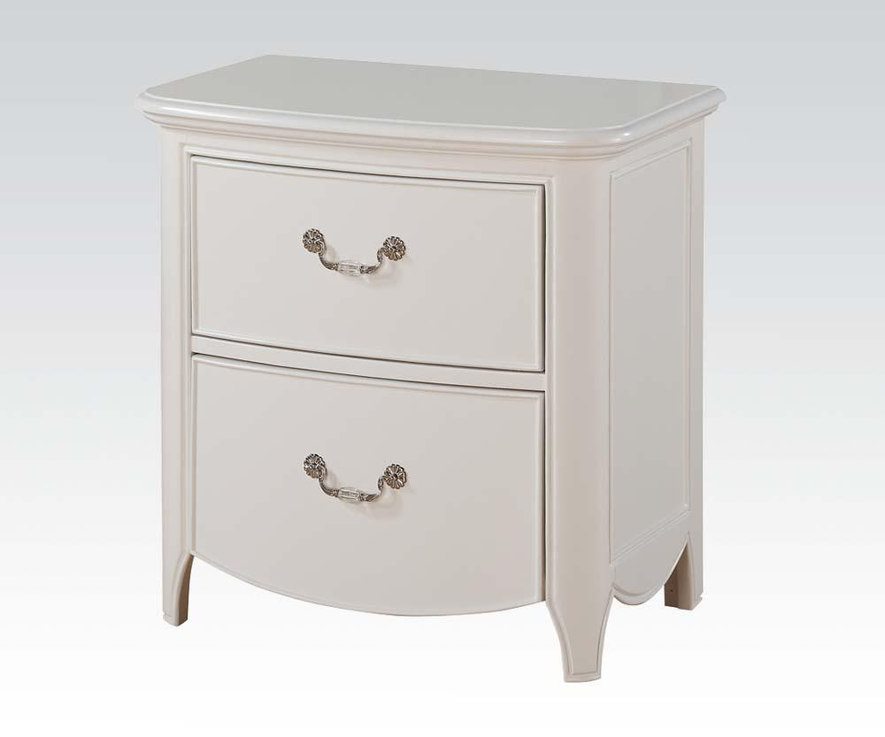 Acme Cecilie White Youth Drawer Night Stand