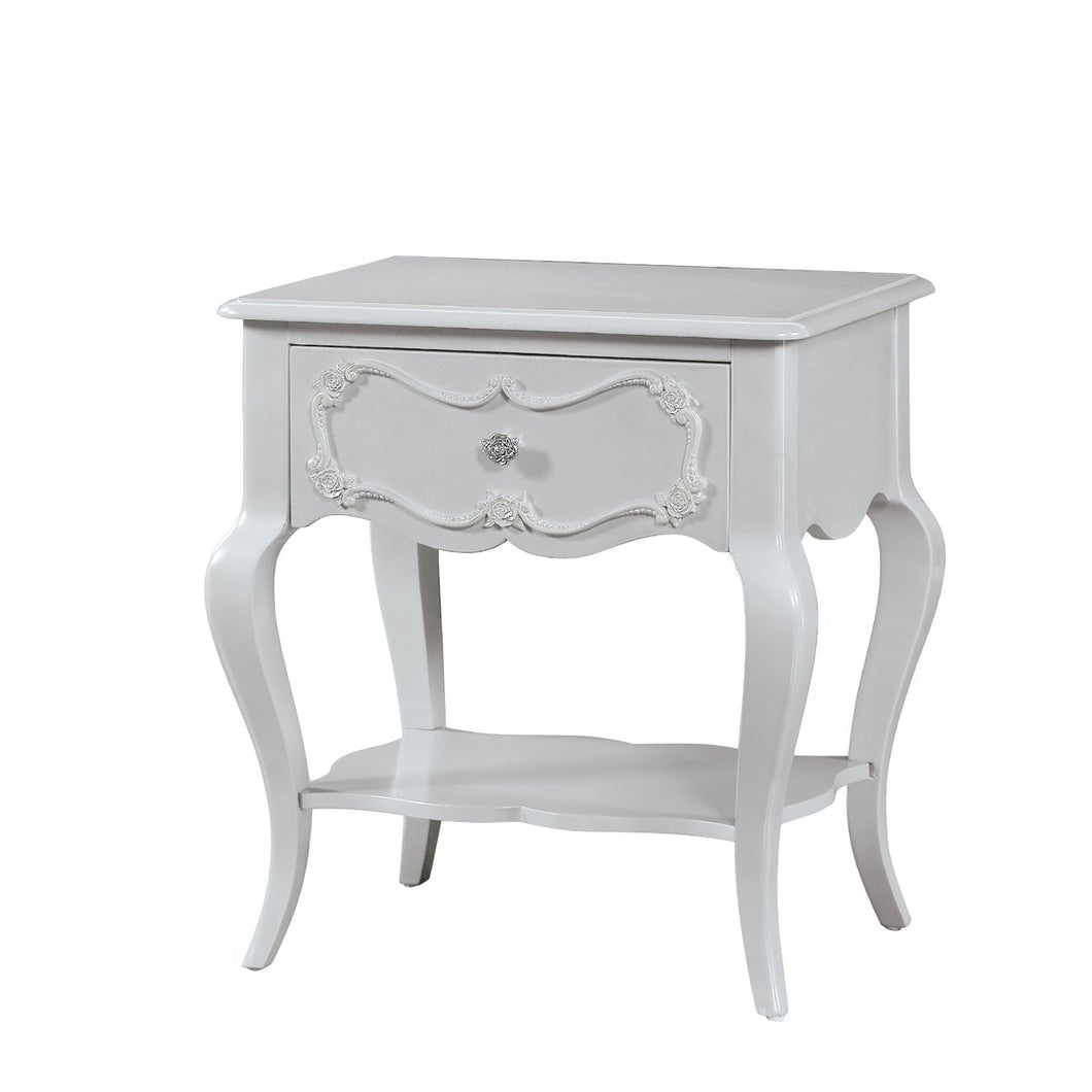 Acme Edalene Gray Girl Drawer Night Stand