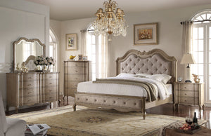 Acme Chelmsford Antique Taupe California King Bedroom Set