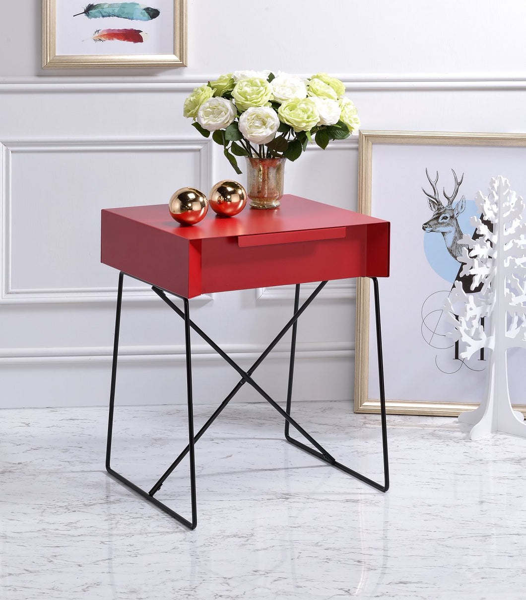 Acme Gualacao Red End Table