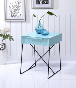Acme Gualacao Light Blue End Table