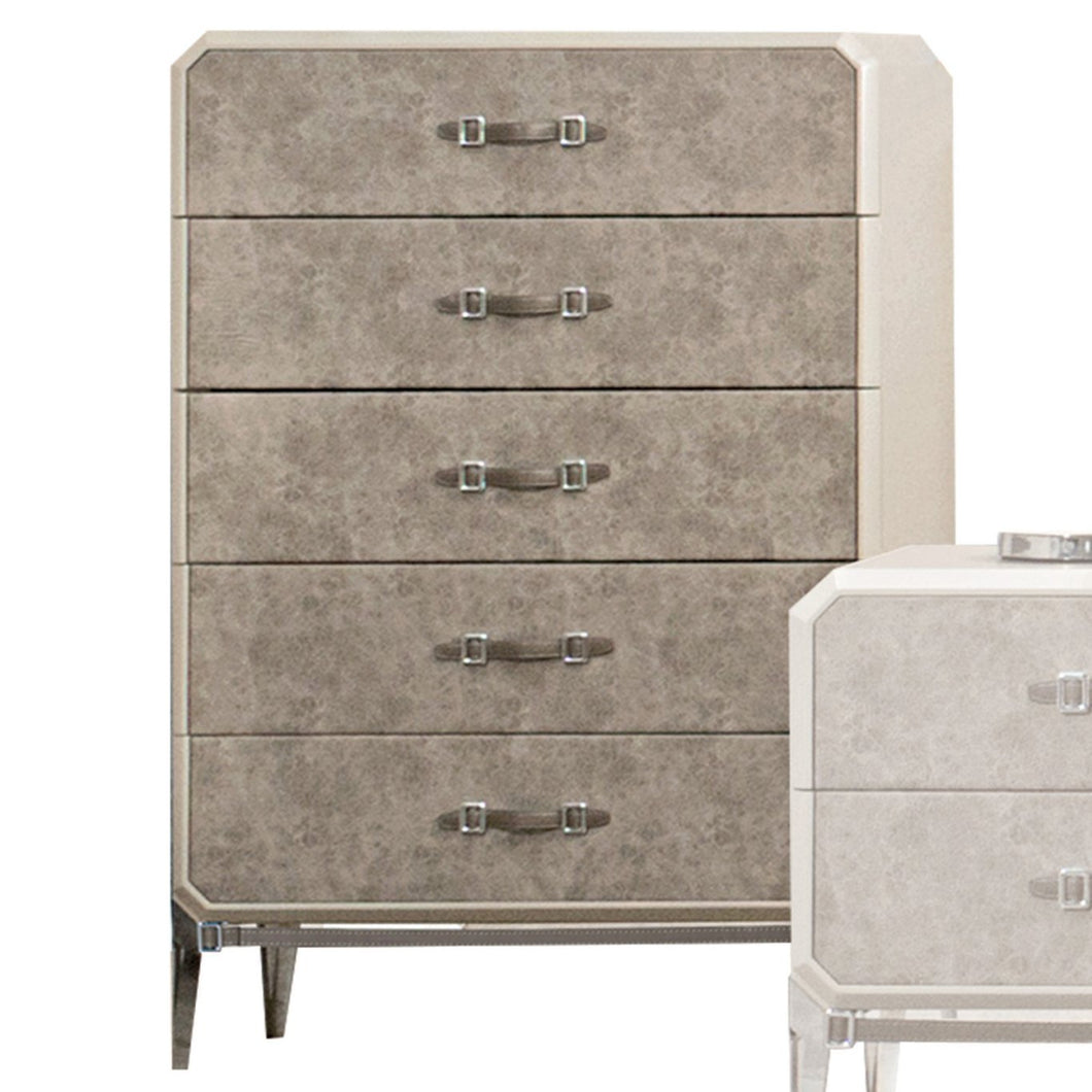 Acme 27206 Kordal Beige Wood Finish Chest