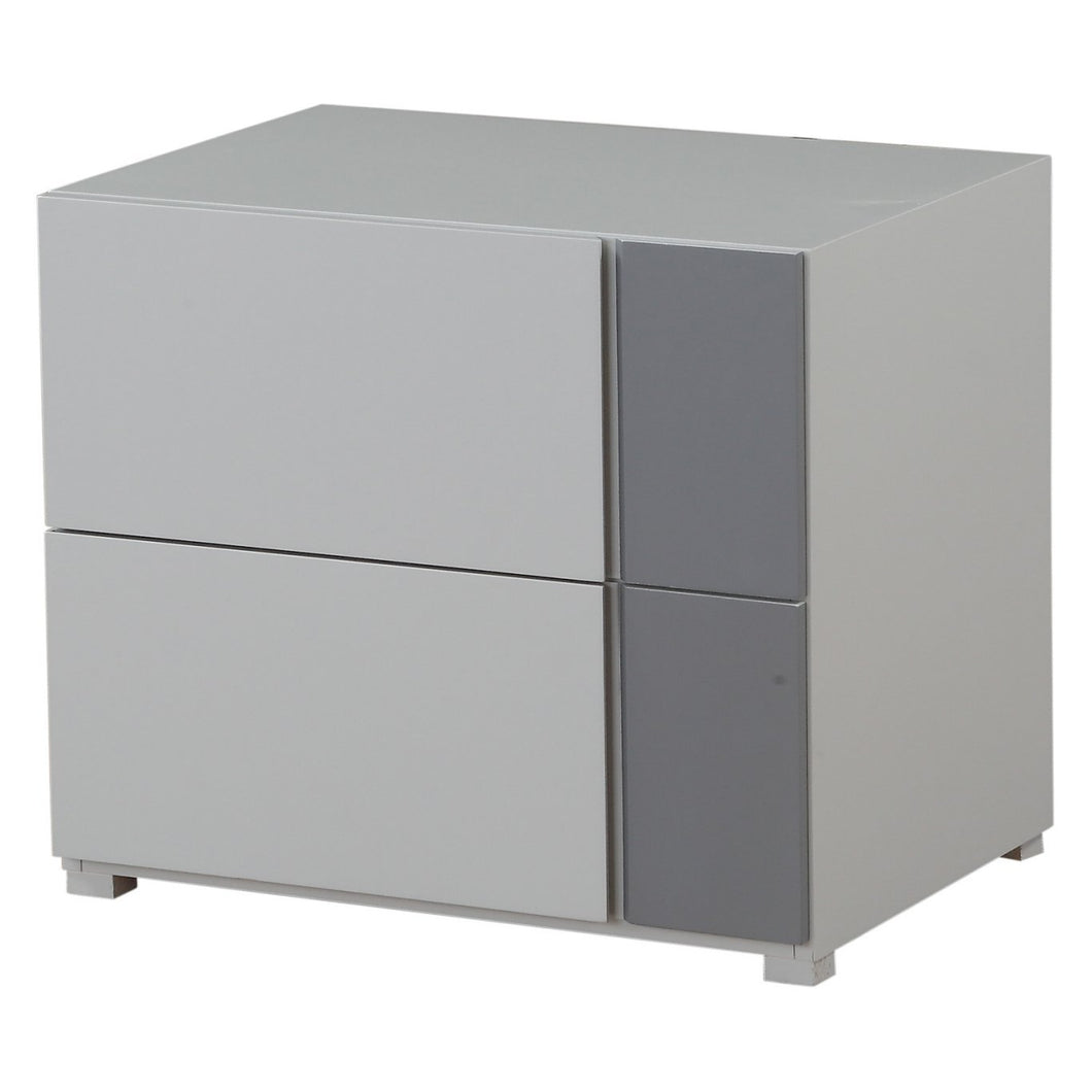 Acme 97526 Byrde Gray Wood Finish Contemporary Nightstand