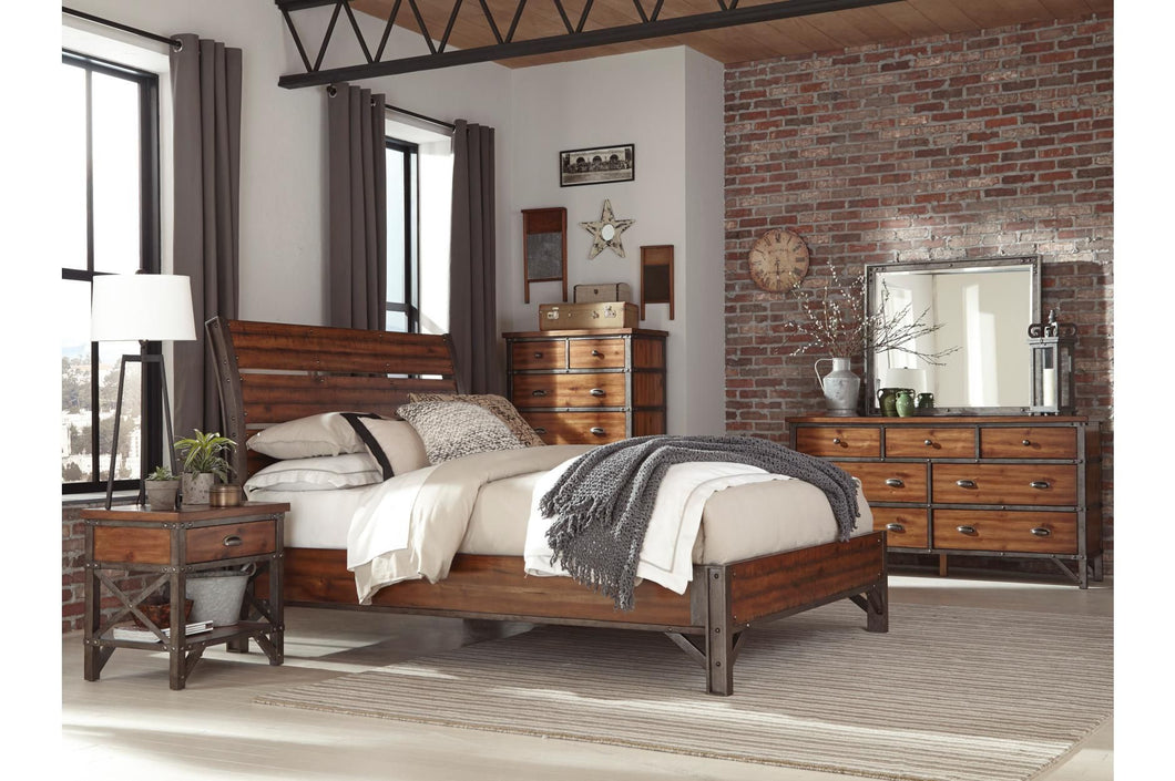 Holverson 4PC Queen Bedroom Set