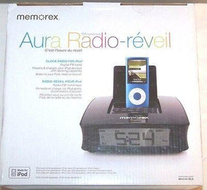 Memorex Mi4390BLK Clock Radio for iPod-Brand New in Box!