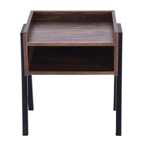 Nightstand Table Multi Functional