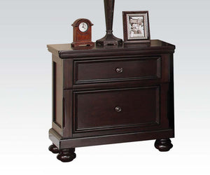 Acme Grayson Traditional Dark Walnut Night Stand