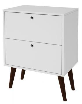 2- Drawer Nightstand in White