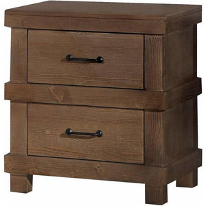 Acme Adams Nightstand in Antique Oak Finish 30613