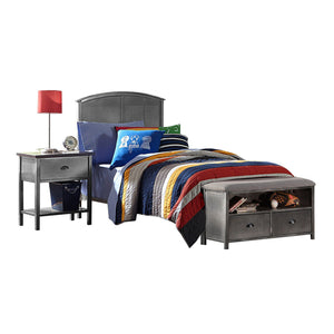 Hillsdale Furniture Urban Quarters Full Bed & Storage Bench 2-piece Set