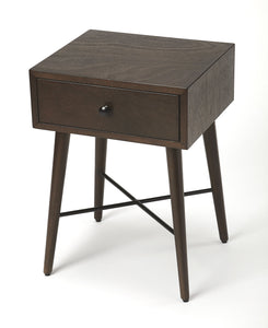 Delridge Coffee & Black End Table