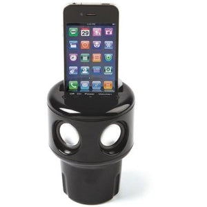 Auto Tunes - Cup Holder Speaker For Cell Phones