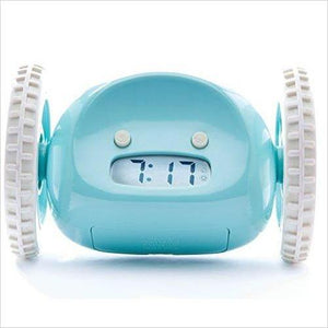 Runaway Alarm Clock on Wheels - Loud for Heavy Sleepers