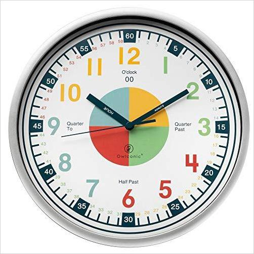Educational Clock - Learn How to Read Time on a Clock
