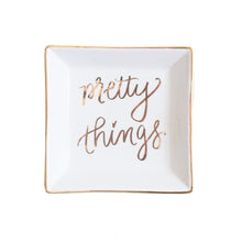 Load image into Gallery viewer, Pretty Things Jewelry Dish by Sweet Water Decor