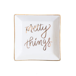 Pretty Things Jewelry Dish by Sweet Water Decor