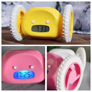 Hide and Seek Runaway Alarm Clock