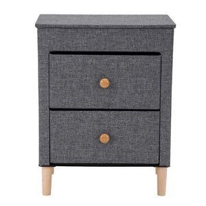 Try kamiler 2 drawer nightstand beside table end table storage organizer unit for bedroom hallway entryway closets no tool required to assemble