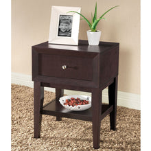 Load image into Gallery viewer, Baxton Studio Gaston Modern Accent Table and Nightstand, Brown