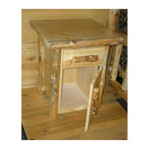 23 in. Handcrafted Nightstand