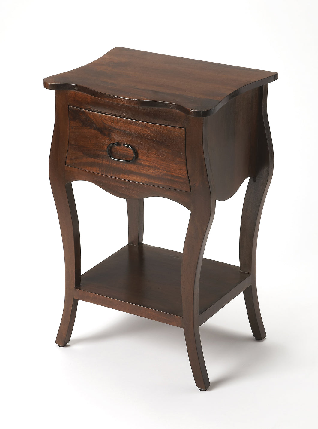 Rochelle Antique Walnut Nightstand