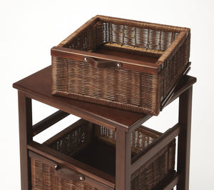 Falmouth Rattan Chairside Chest
