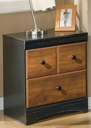 Aimwell Two Drawer Night Stand