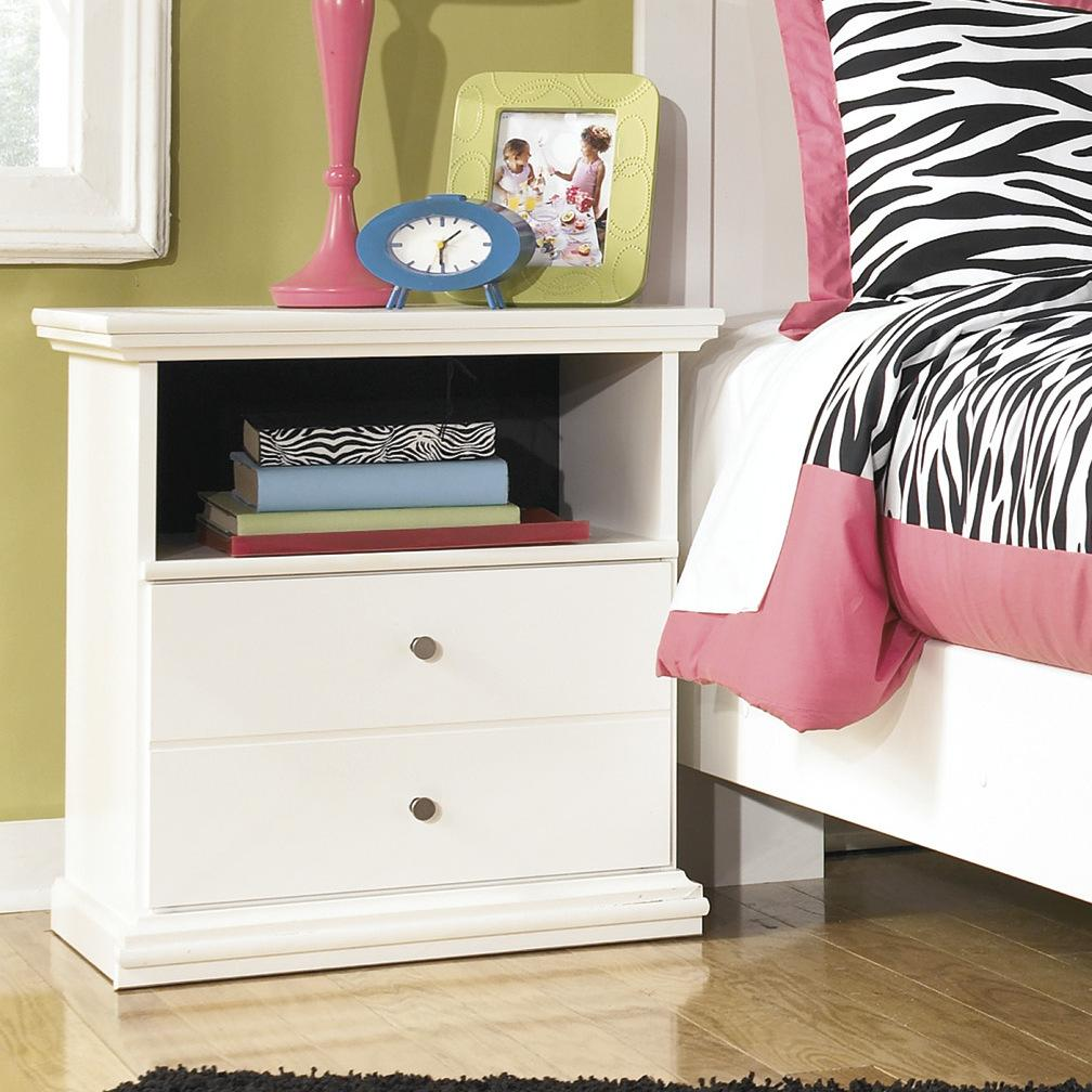 Buckwick Shoals Casual White One Drawer Night Stand