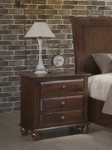 Concord Cherry Finish solid wood construction Nightstand