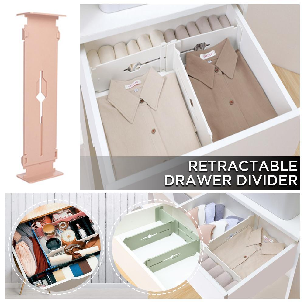 Retractable Drawer Divider - 2PCS