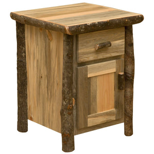 Blue Stain Pine Glacier Enclosed Nightstand