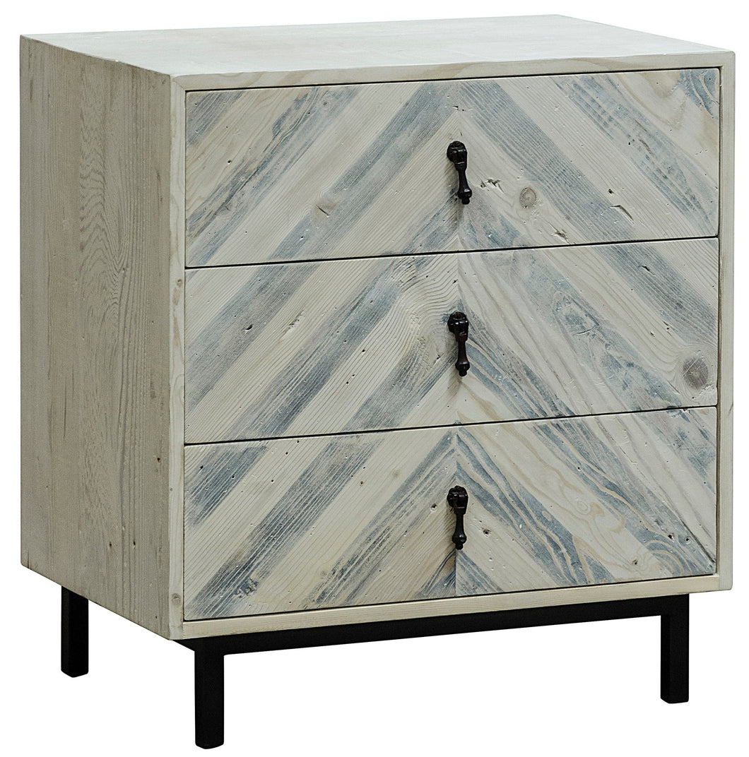 CFC Reclaimed Lumber Chevron Nightstand