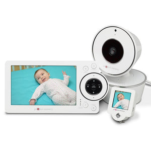 "Project Nursery 5"" Baby Monitor with 1.5"" Mini Monitor"