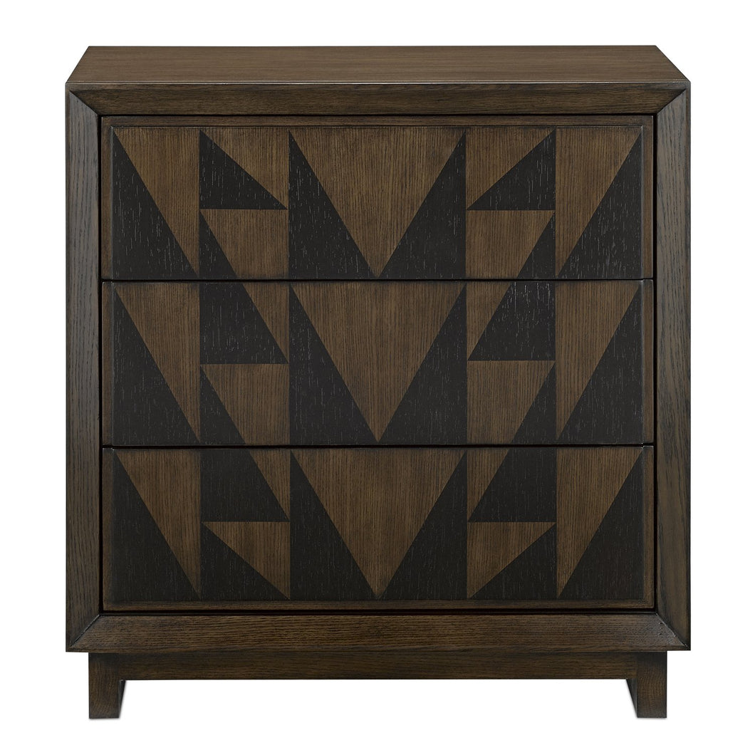 Currey & Co Leiden Nightstand
