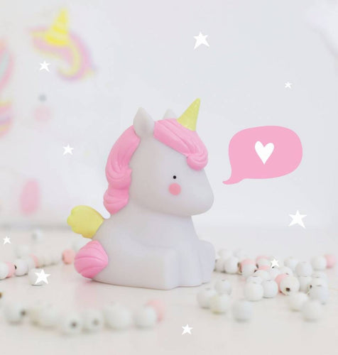 Mini Unicorn Lamp