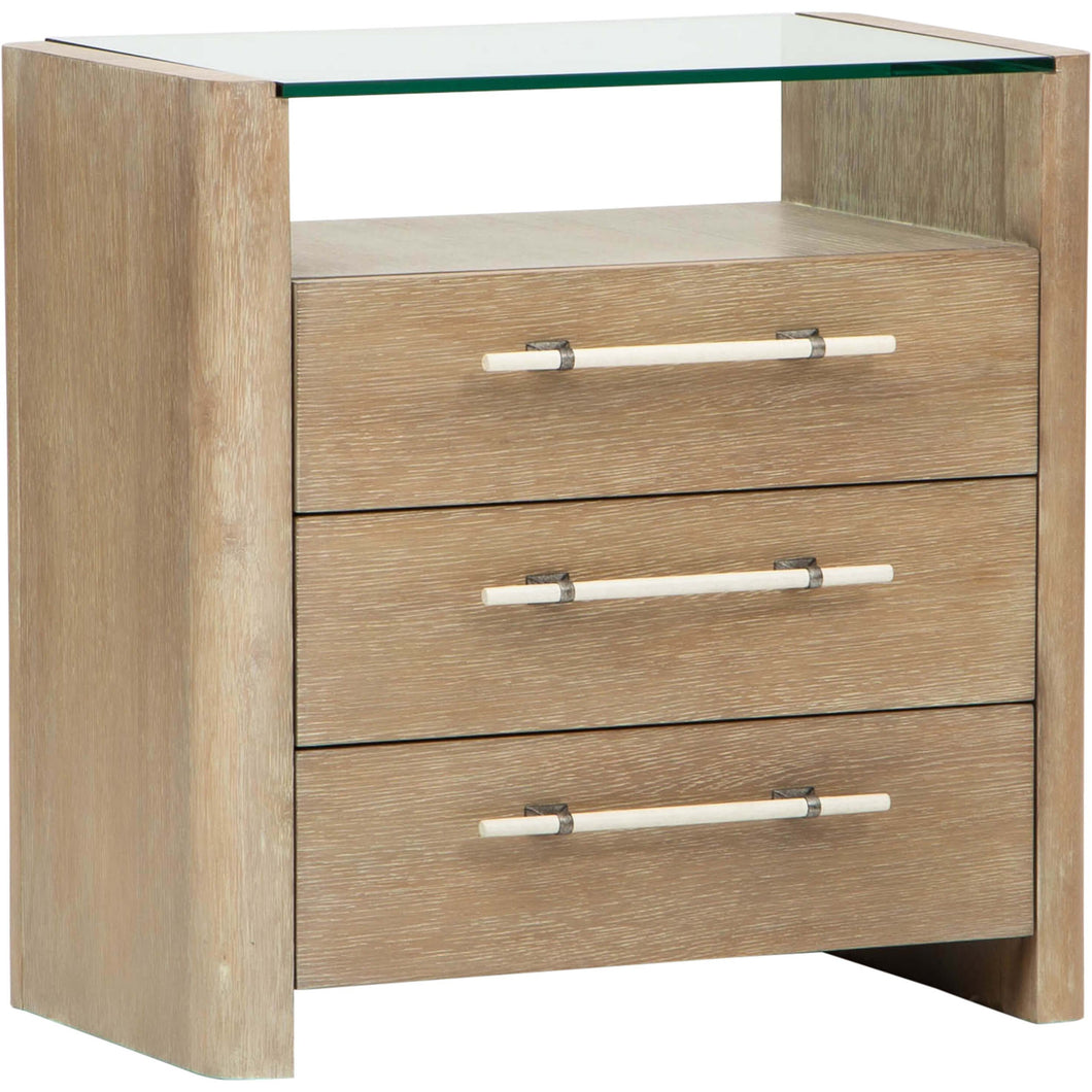 Affinity Three Drawer Nightstand