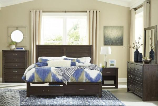 Darby Queen Storage Bedroom Set