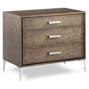 Chloe 3 Drawer Nightstand