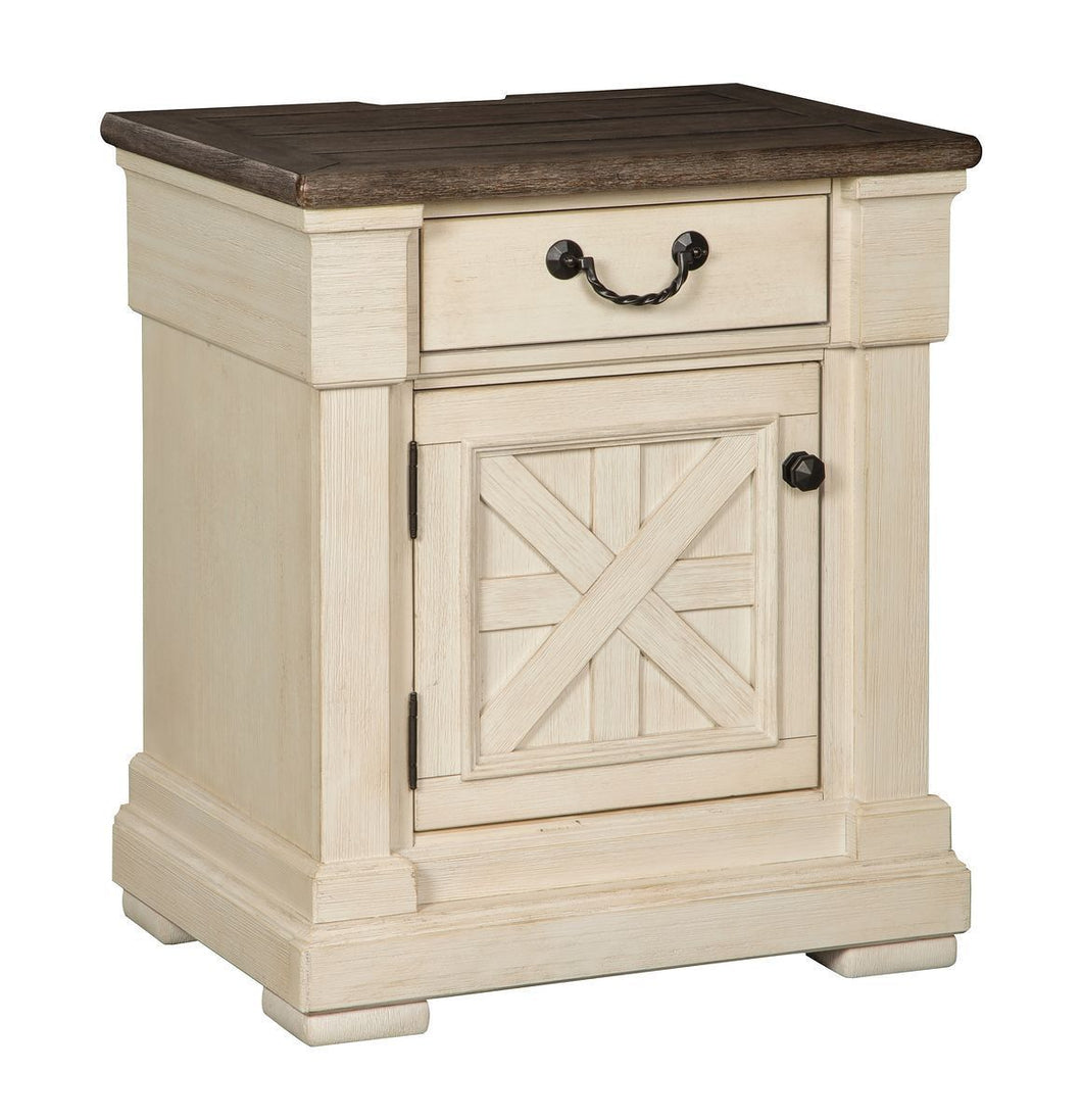 Bolanburg Two tone One Drawer Night Stand