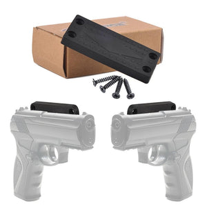 Gun Magnet Mount Holster for Vehicle and Home - Rubber Coated Rated 43 Lbs
