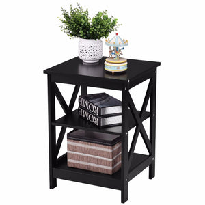 3 Tiers Modern End Storage Table