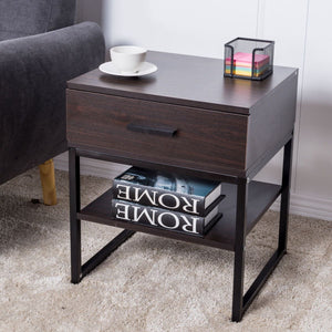 Drawer Modern Philly End Table