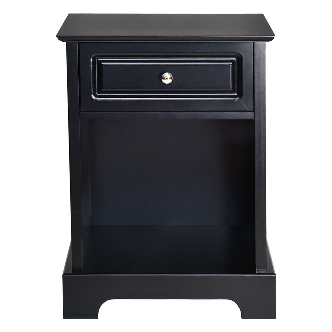 Accent Table Bedside Storage Nightstand