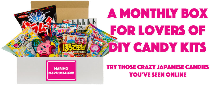 A monthly subscription that includes Japanese candy, DIY kits and snacks from Japan