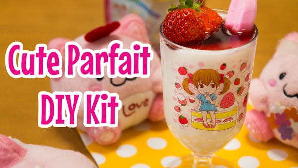 cute parfait DIY kit
