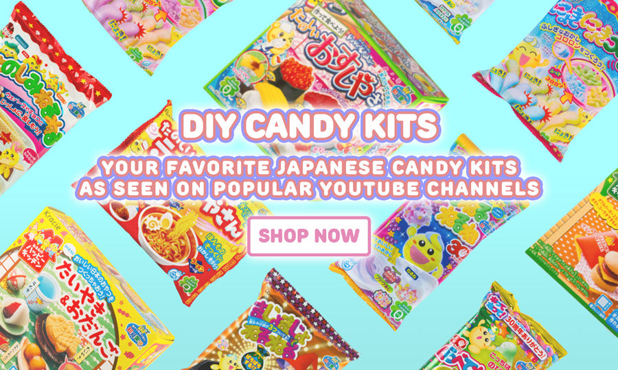 Shop now for your favorite DIY Japanese candy kits!